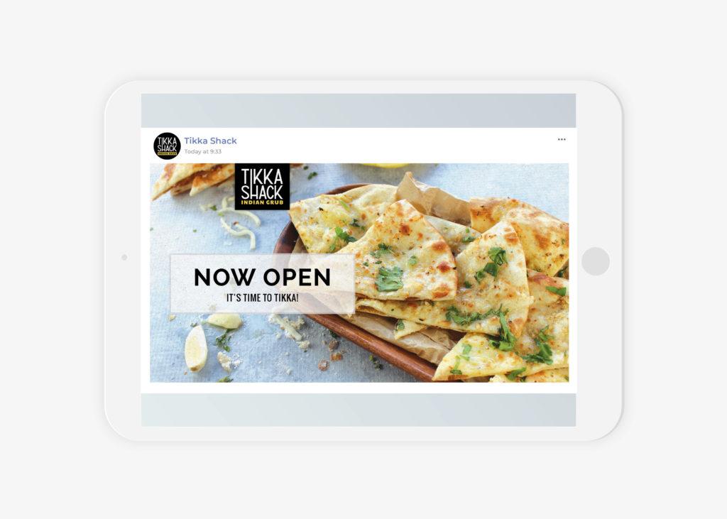 indian restaurant texas branding opening