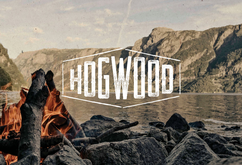 Hogwood BBQ Logo Design Branding