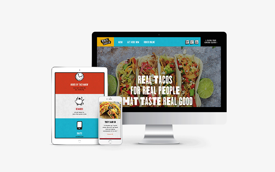 taco restaurant website
