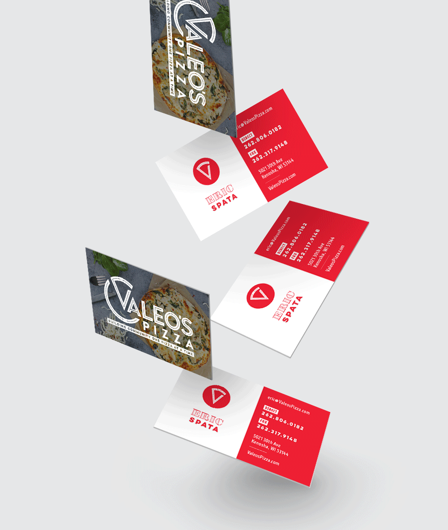 Pizzeria Business Cards