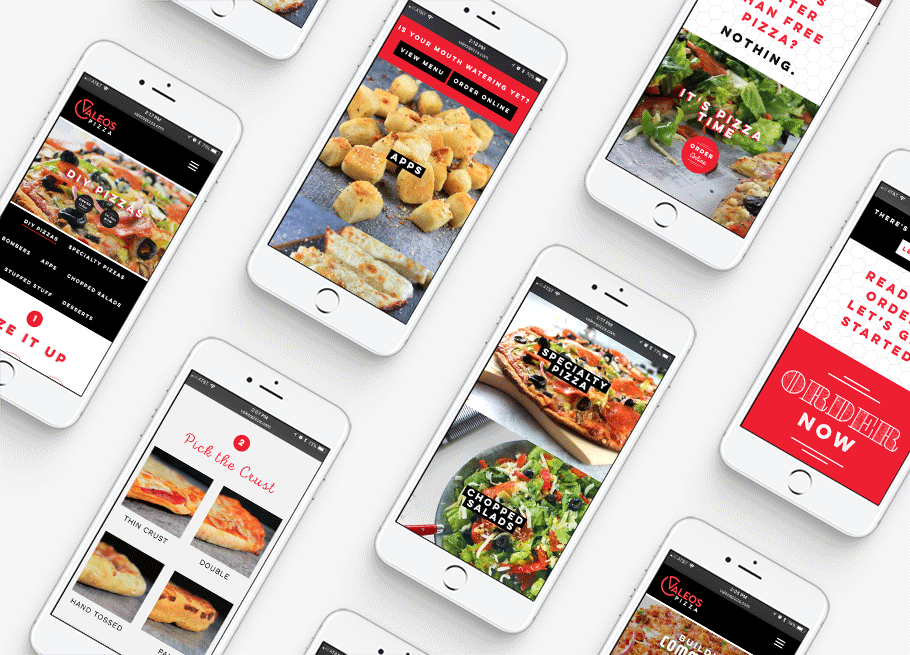 Pizzeria Website design