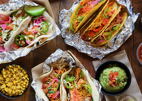 taco restaurant food photography