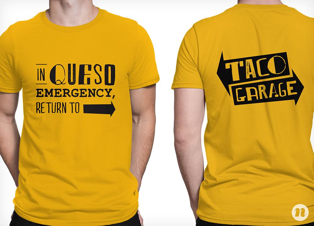 taco restaurant branding attire