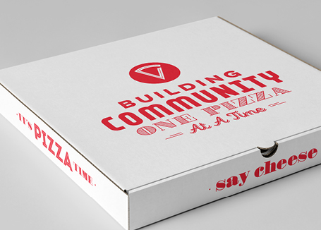 pizza restaurant package design