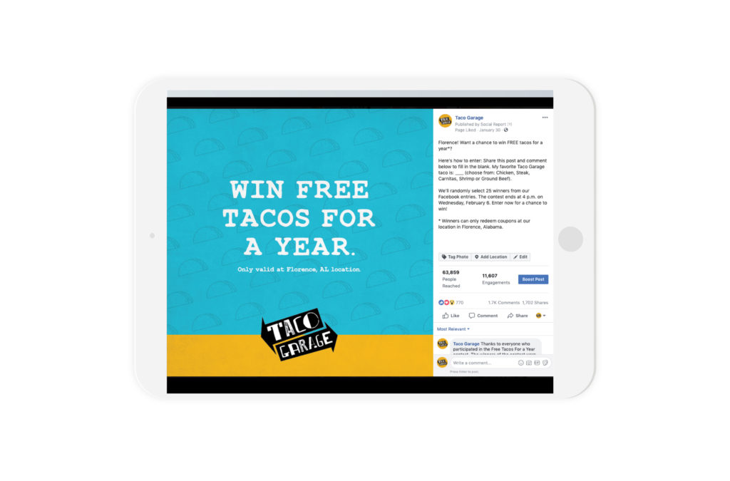 facebook marketing campaign