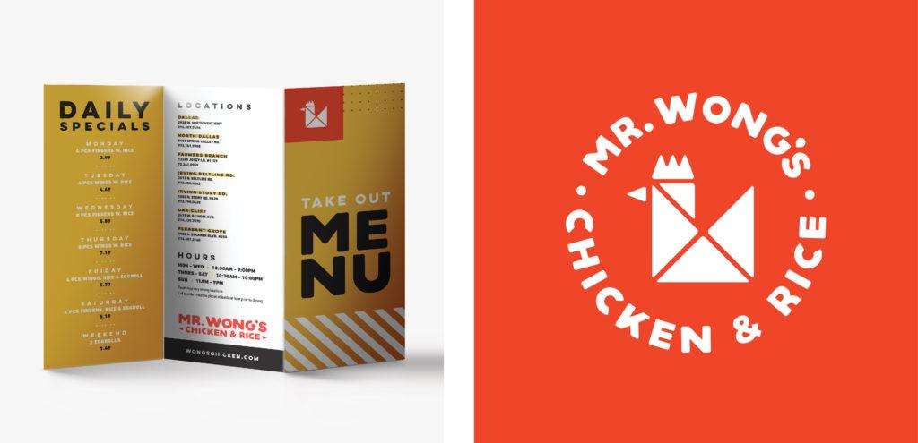 Menu Design Logo Development