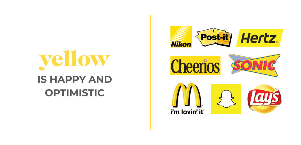 Color Psychology Yellow Happy