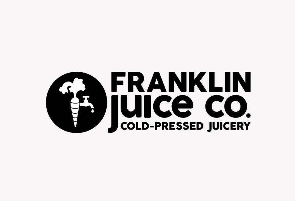 Franklin Juice Co Logo Design