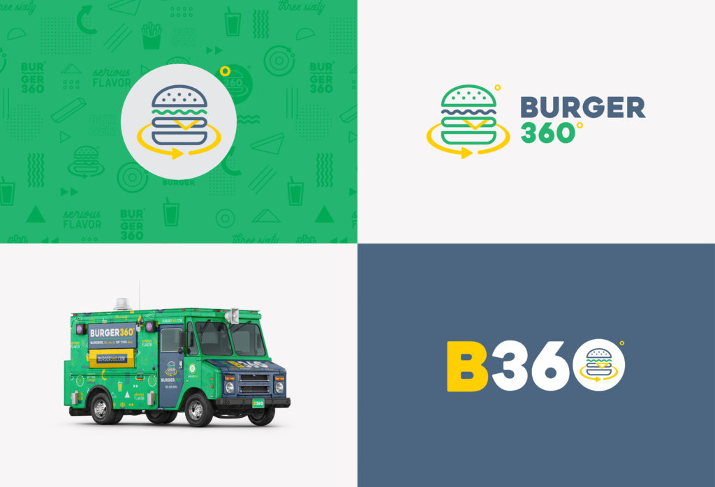 food truck Brand Colors