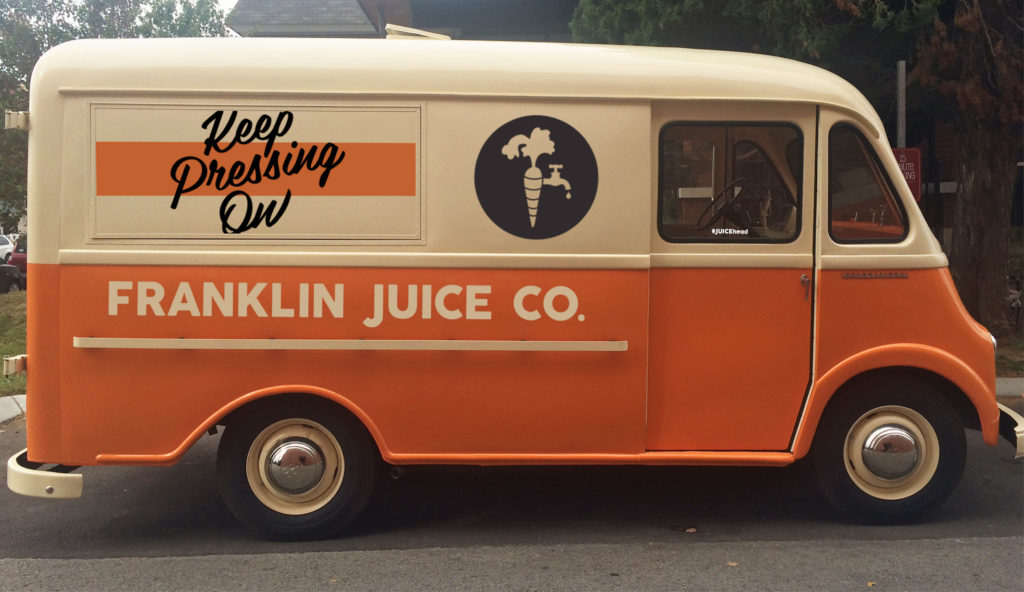 Juice Truck Wrap Design