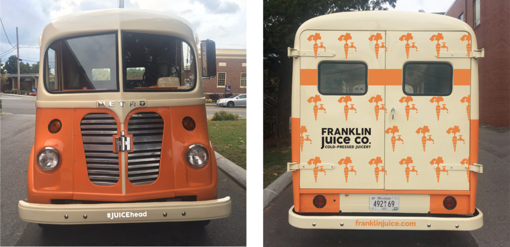 Juice Truck Vintage Design