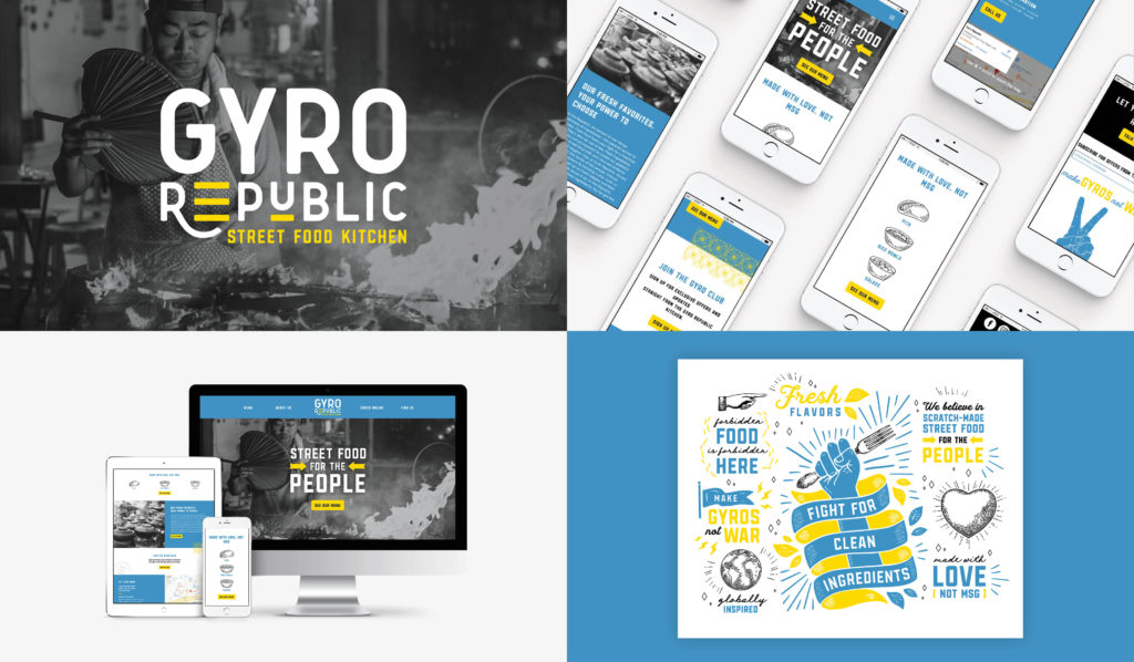 Gyro Restaurant Branding Agency