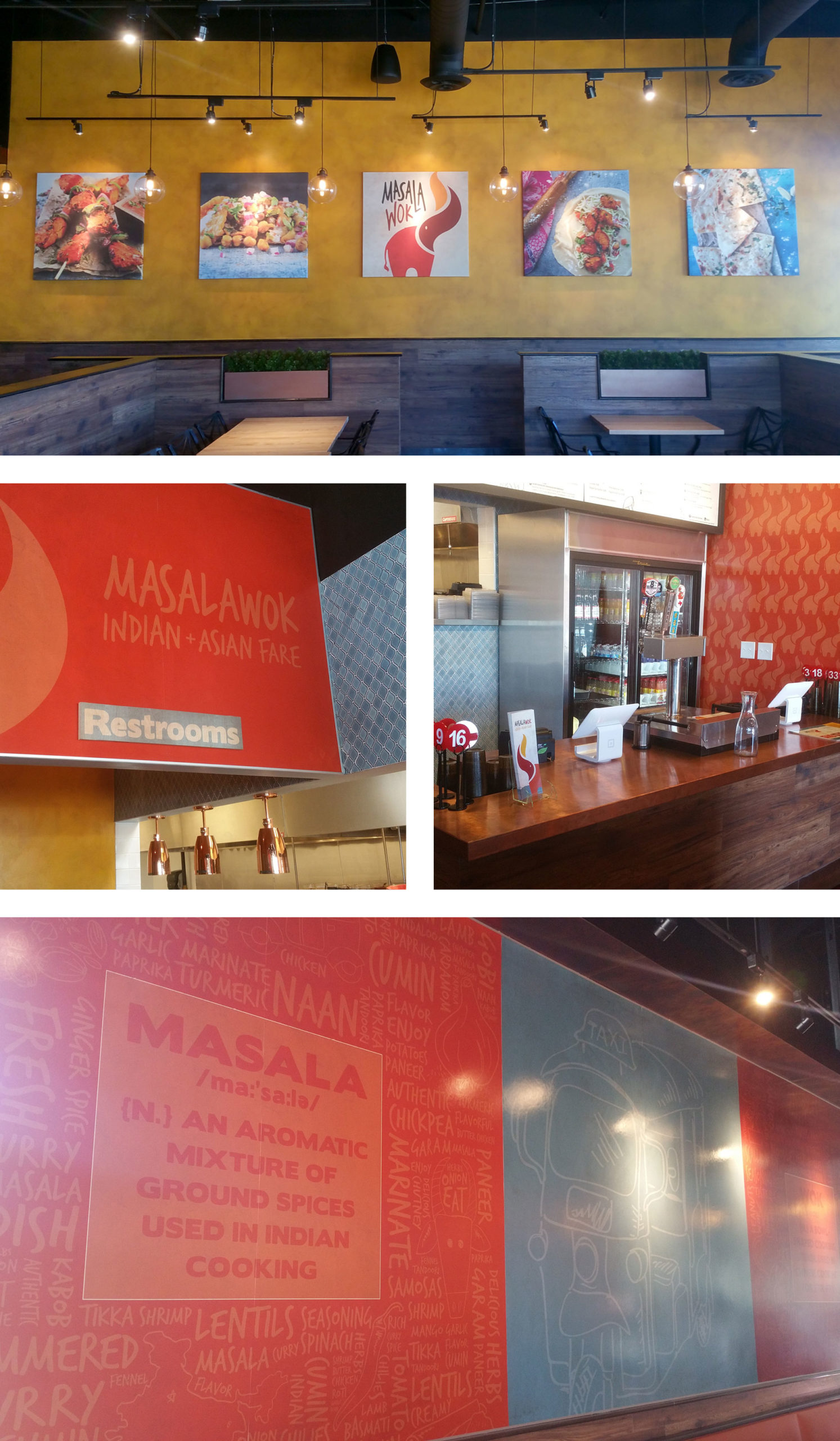 masala wok environmental design