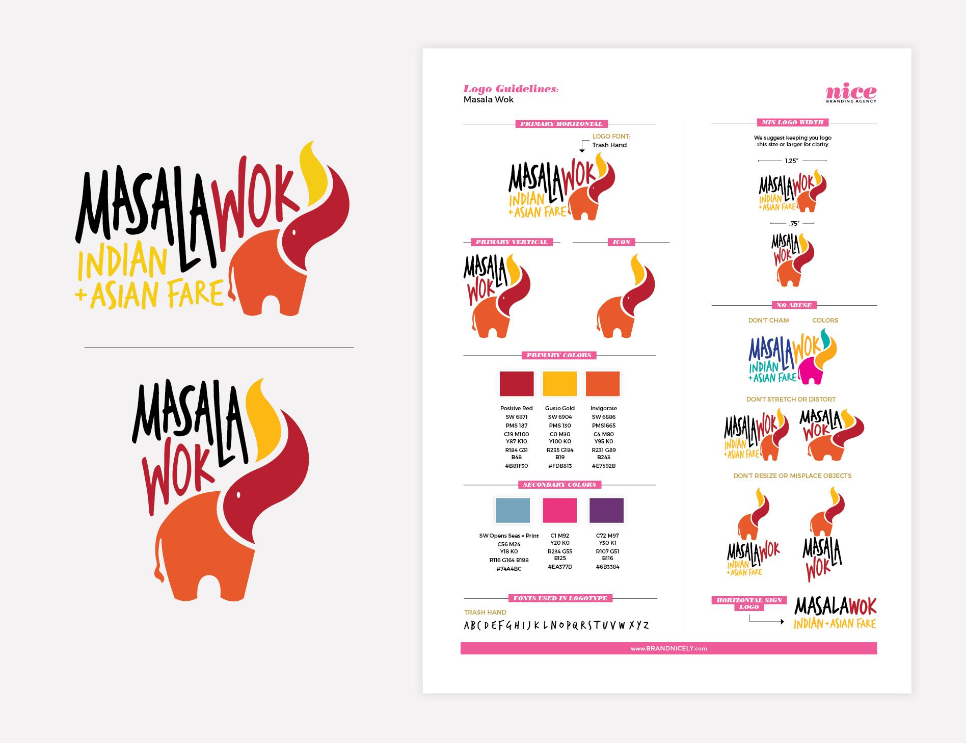 restaurant logo guidelines