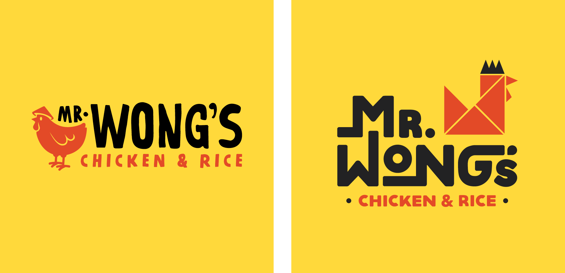 asian chicken logo graphic design