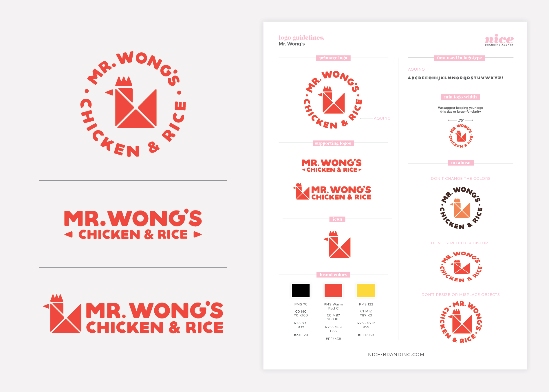 asian restaurant logo guideline