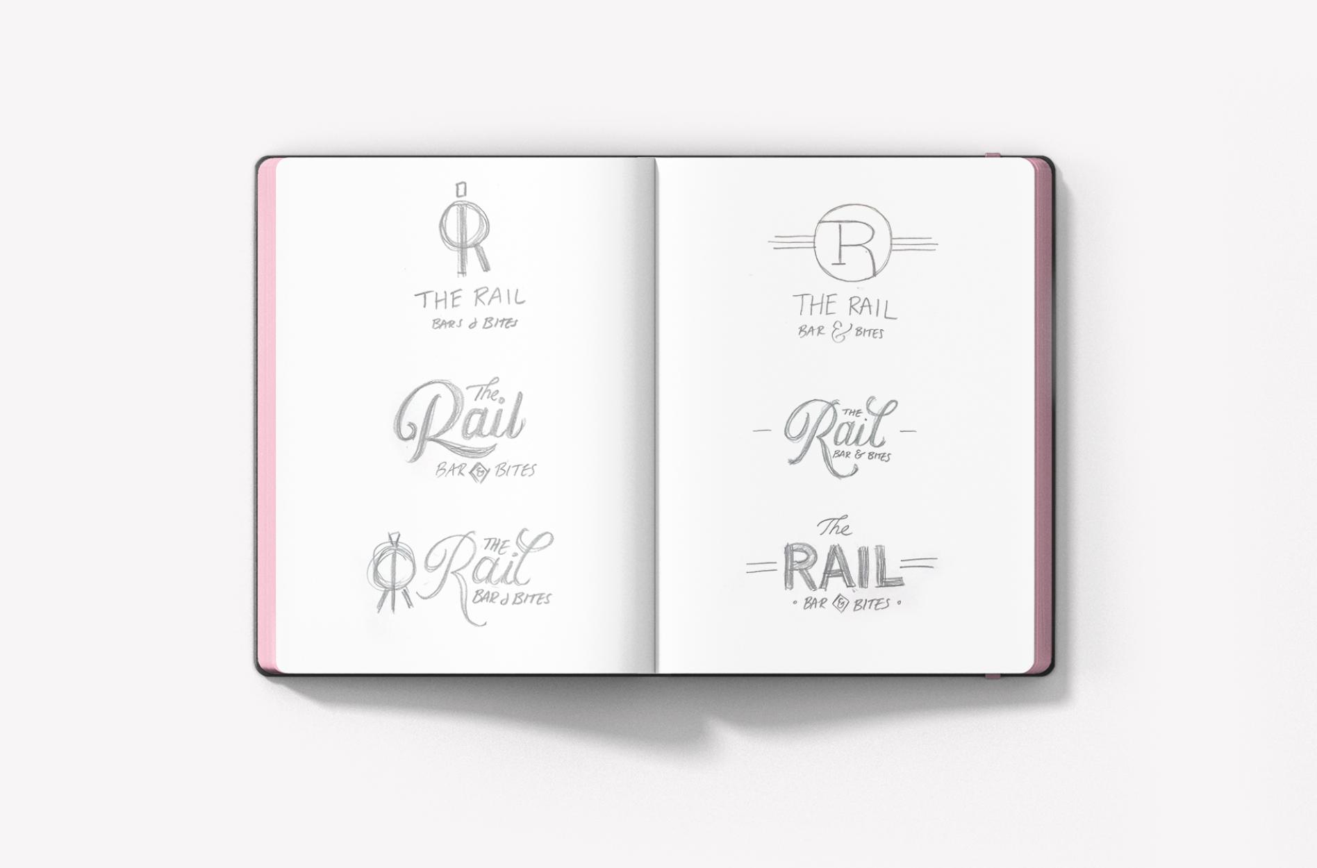 bar logo sketches