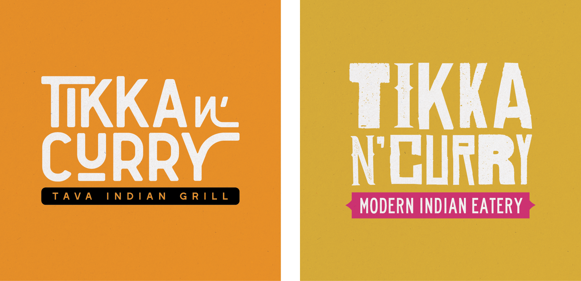 curry logo graphic design agency