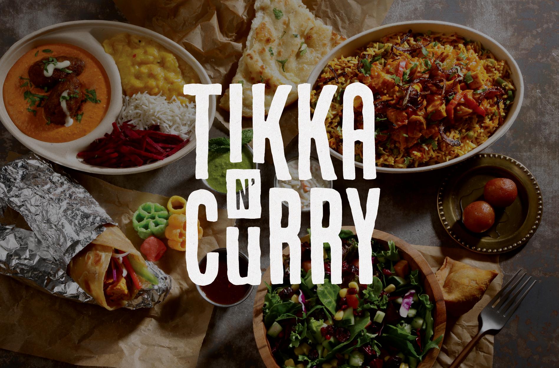 indian food restaurant branding design
