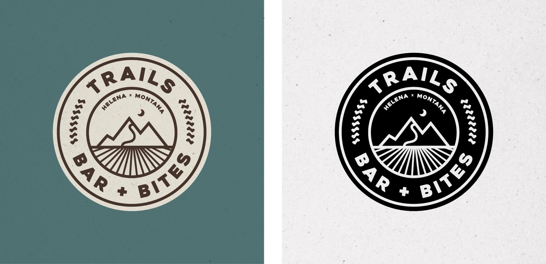 outdoor bar logo design