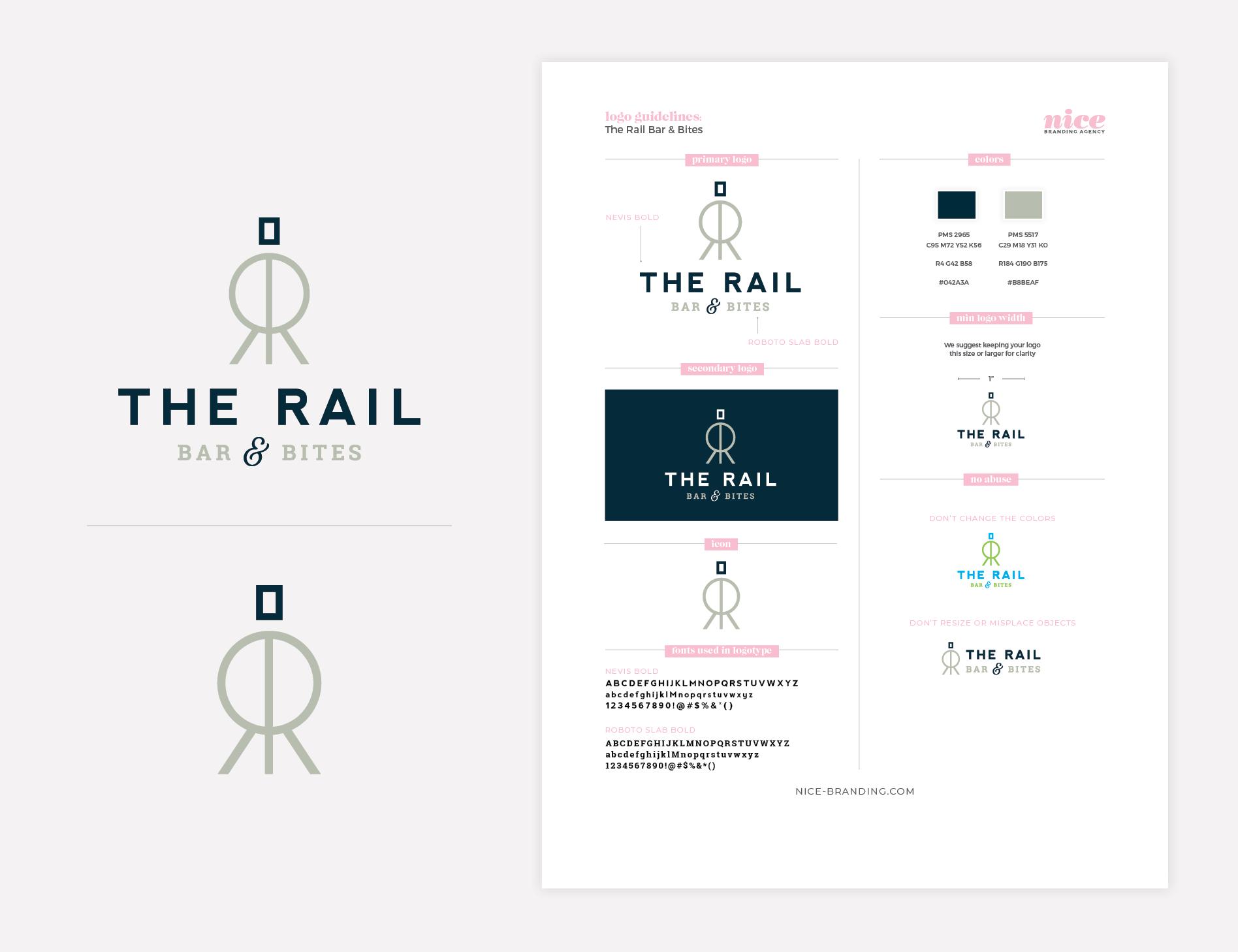train logo brand guidelines