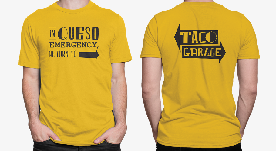 taco restaurant apparel design