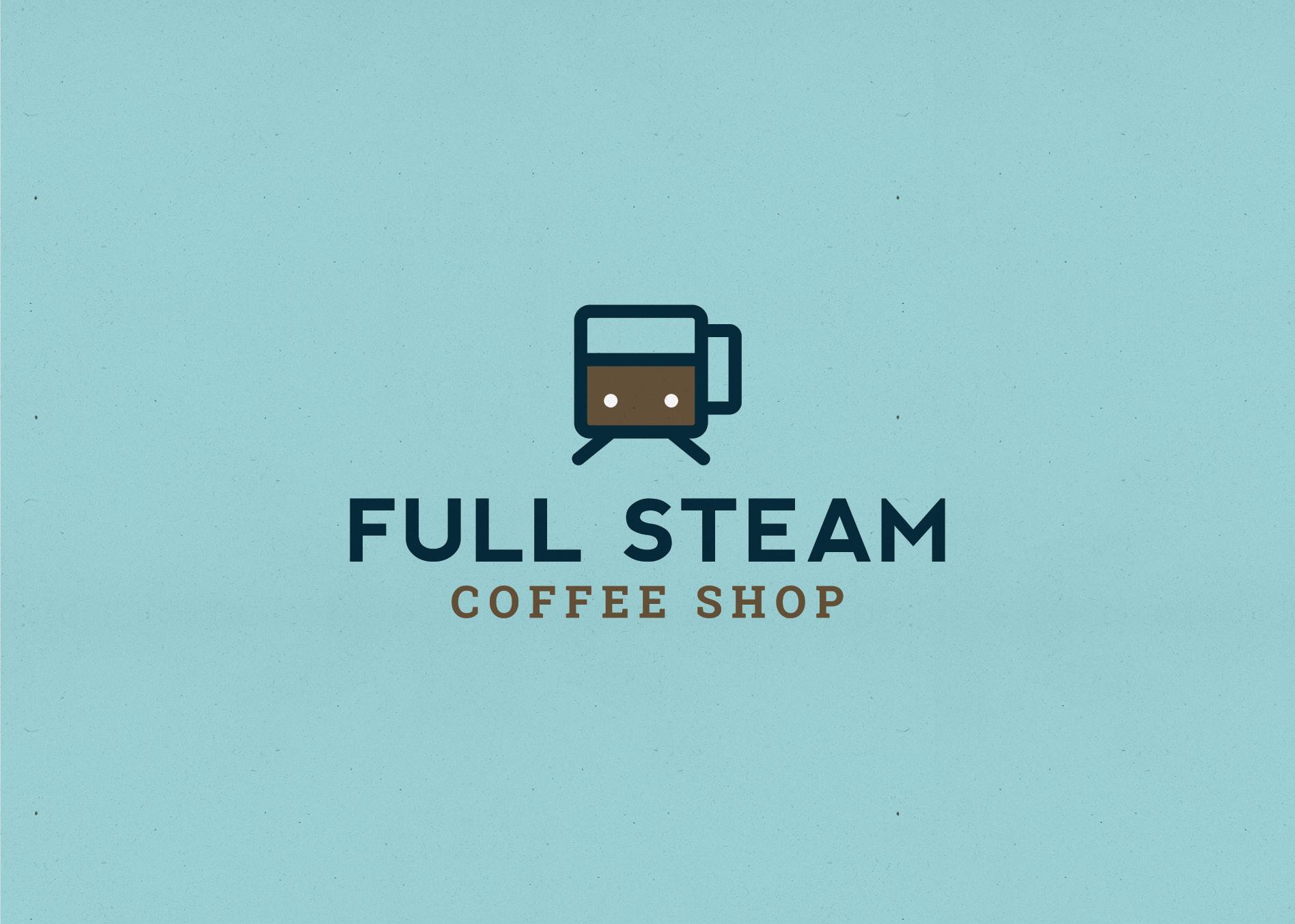 coffee shop graphic design