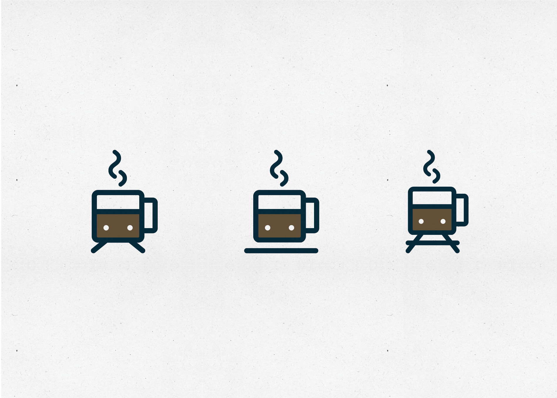 coffee shop logo design icons