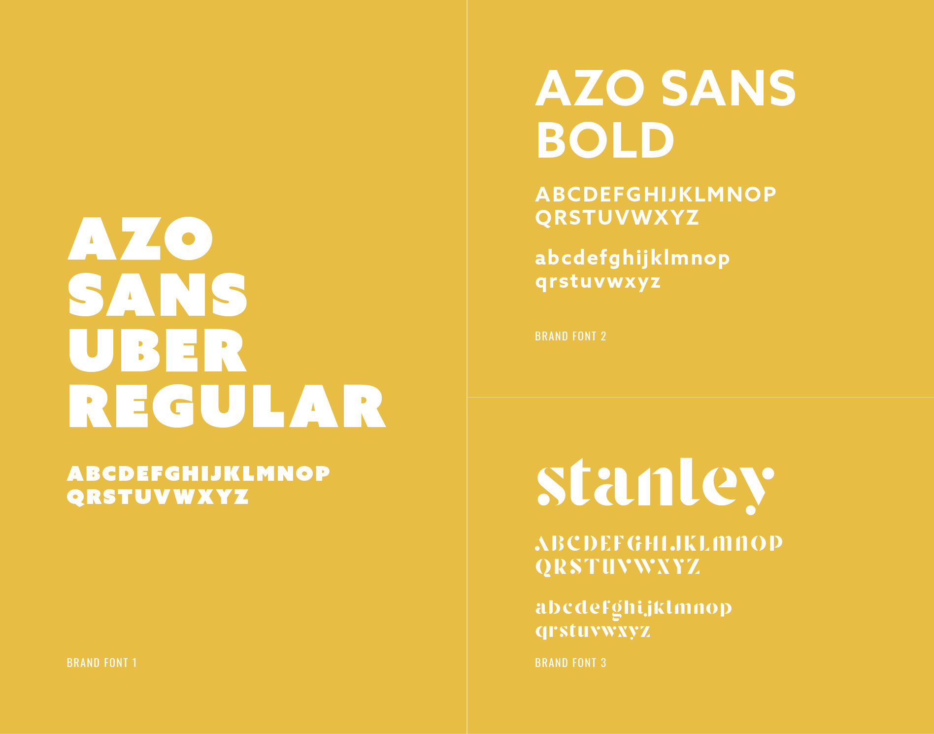 food business brand fonts