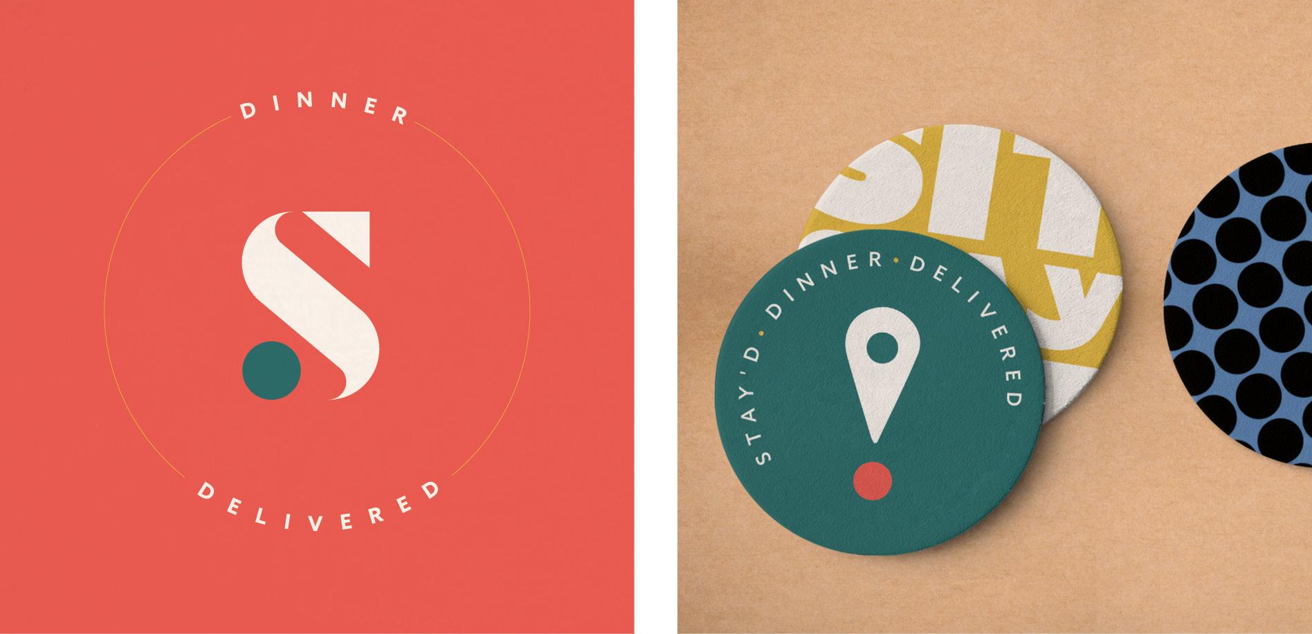 secondary logos food company