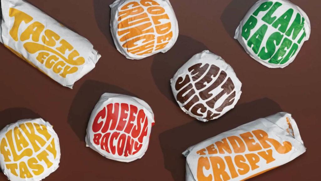 Burger King package design