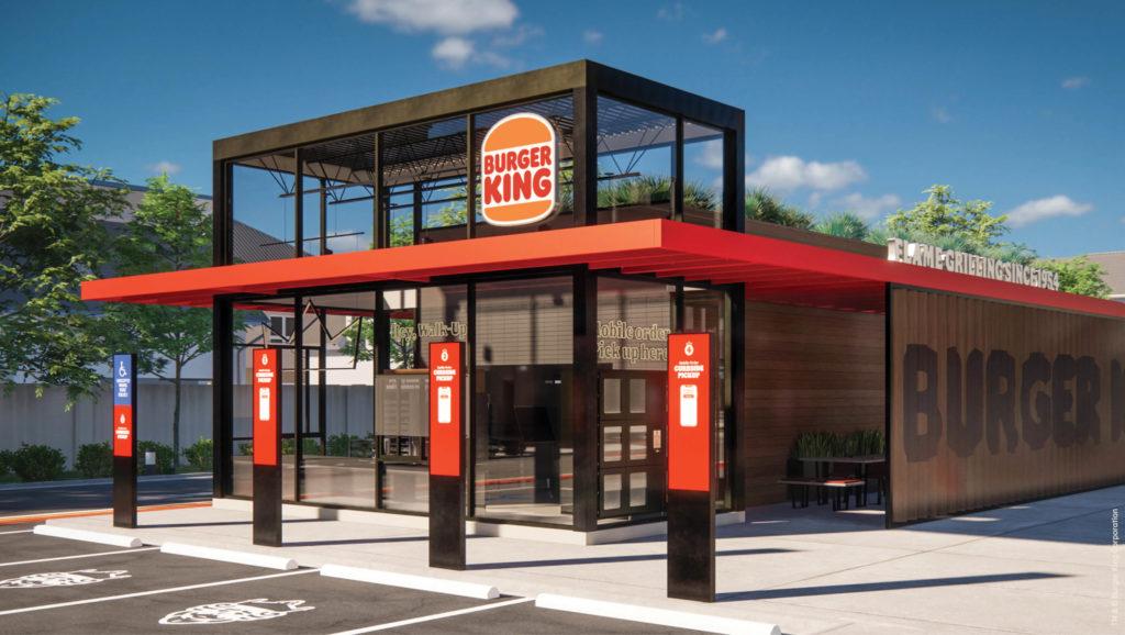 Burger King Exterior Redesign