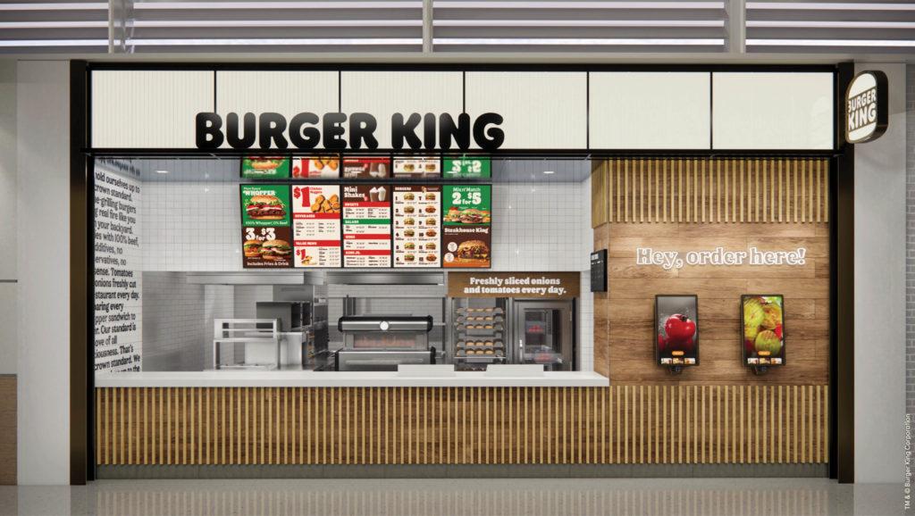 Burger King Environmental Branding