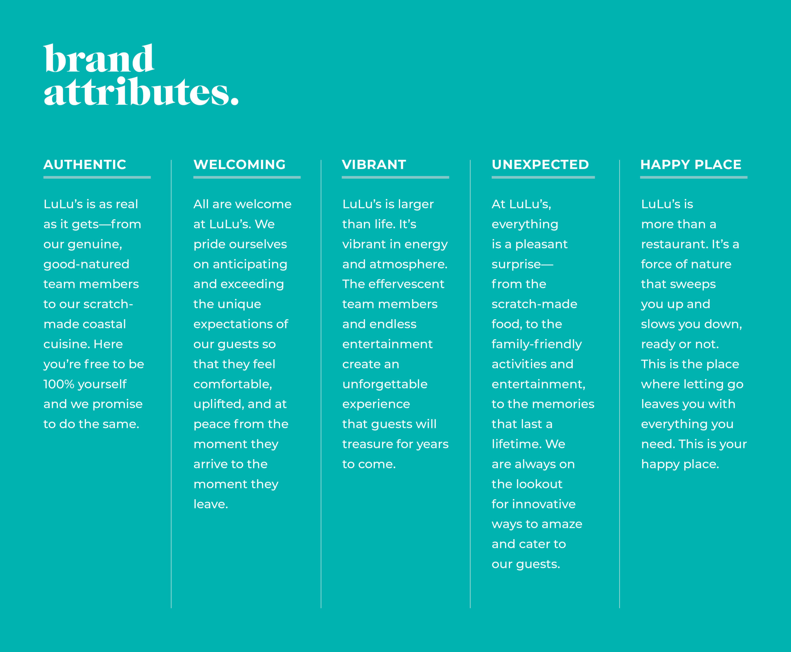 brand attributes brand positioning