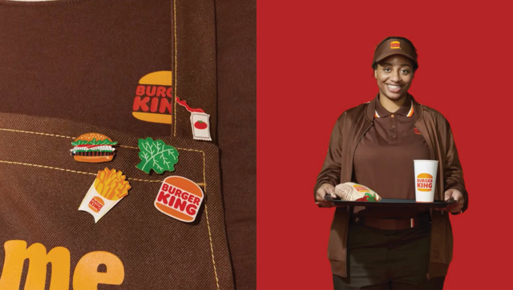 Burger King uniforms